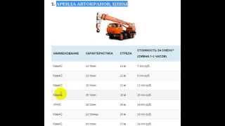 Аренда автокрана в Москве(, 2015-04-03T12:53:58.000Z)