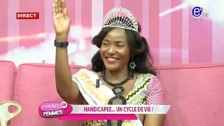 PAROLES DE FEMMES (Handicapée..un cycle de vie) DU MARDI 03 DÉCEMBRE 2019 - EQUINOXE TV