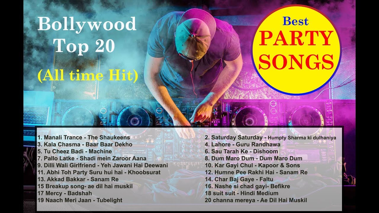 party songs top 20 best hit collection of all time bollywood