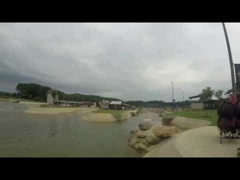 U.S. National Whitewater Center Rafting And Zipline (HD Version)