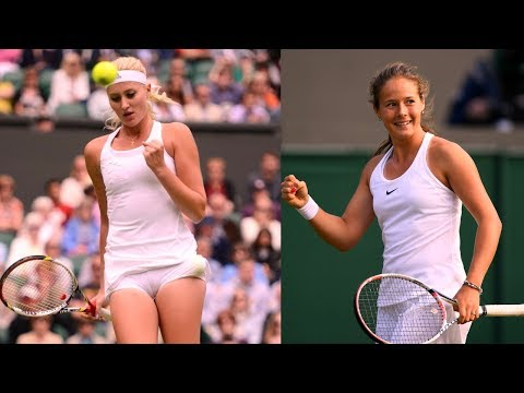 Daria Kasatkina vs Kristina Mladenovic St. Petersburg 2018 HD Highlights