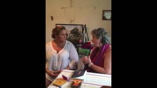 Andrea Perron and Psychic Medium, April Claxton