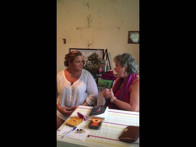 Andrea Perron and Psychic Medium, April Claxton