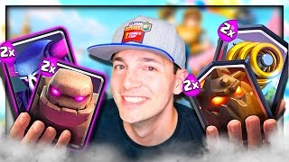 THIS MODE IS NUTS - Clash Royale 2x Elixir Challenge