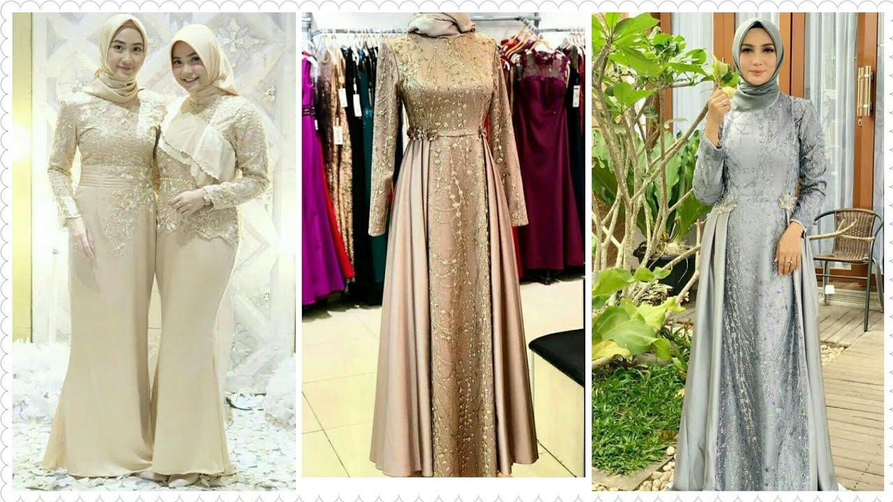 8 Model Baju Kebaya Brokat Pesta Muslimah Terbaru di Tahun 8/8