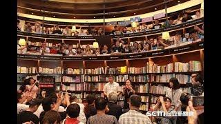 柯文哲台中簽書會「人多到滿出來」 談政治理念酸藍打綠