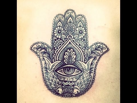 Tatuajes De La Mano De Fátima Ideas Para Tu Tatuaje Youtube