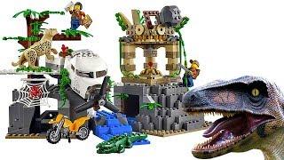 Лего Сити Джунгли СТАНЦИЯ ИССЛЕДОВАТЕЛЕЙ 60161 Поиск сокровищ Lego City Jungle Exploration 60157