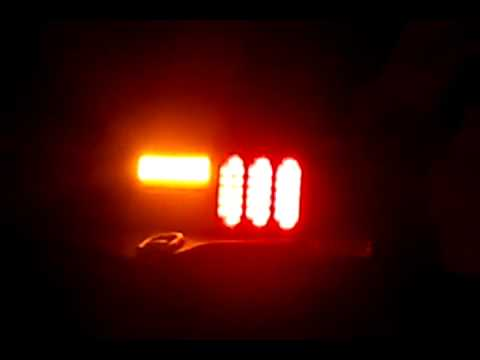 Fox Body Mustang Led Tail Light With Standard Turn Youtube