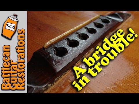 Intake Inspection Carl Fischer parlor guitar pt1 | RATTLECAN GUITAR RESTORATIONS by James O'Rear