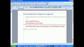 Tạo Form Chứa List Box (P1)