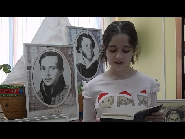 Изображение предпросмотра прочтения – ЛамияНагиева читает произведение «Безумие» Ф.И.Тютчева