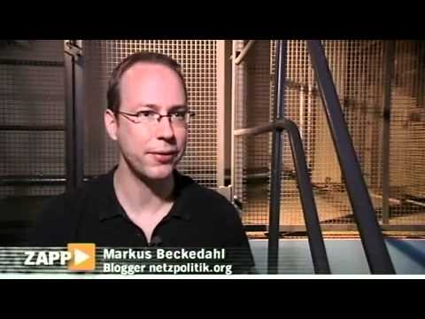 Erasing Internet Archives in Germany (in German) ZAPP NDR/ARD (9 Sept 2010)