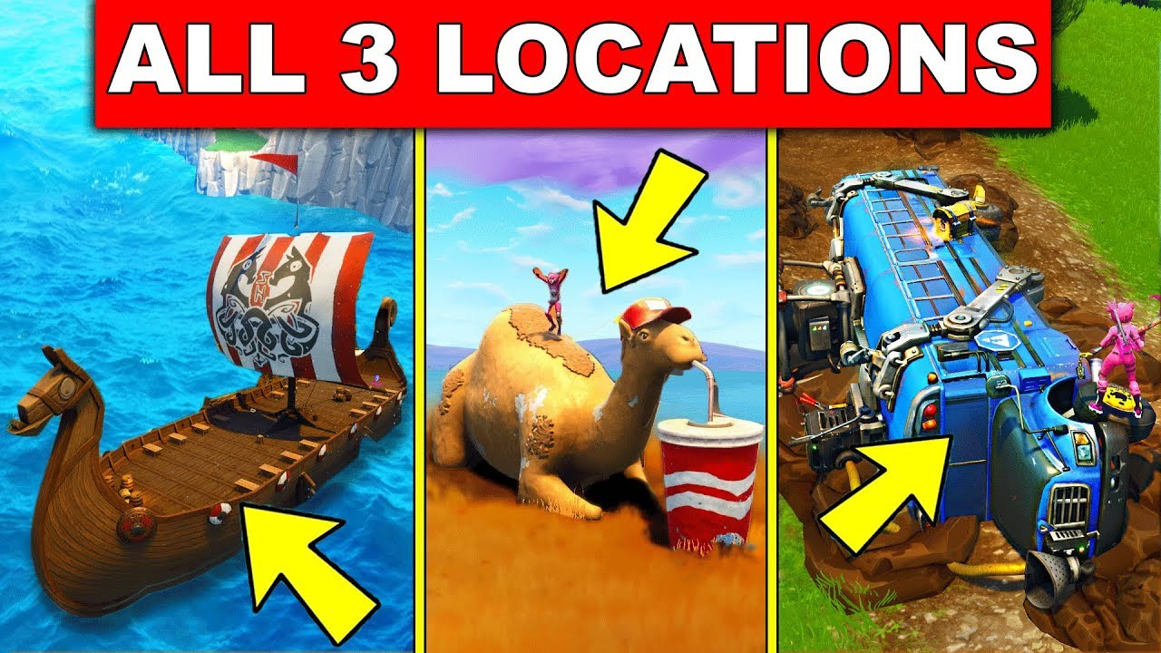 Visit A Viking Ship A Camel And A Crashed Battle Bus All 3