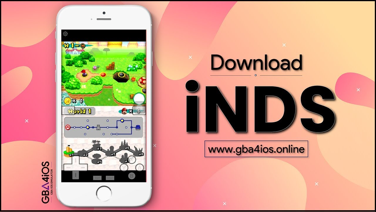 iNDS Download | Install iNDS on iPhone/iPad to Play Nintendo