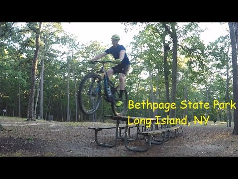 Bethpage State Park Mountain Biking