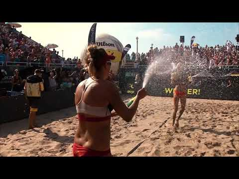 April Ross, Alix Klineman Win First Match in Tokyo Beach Volleyball