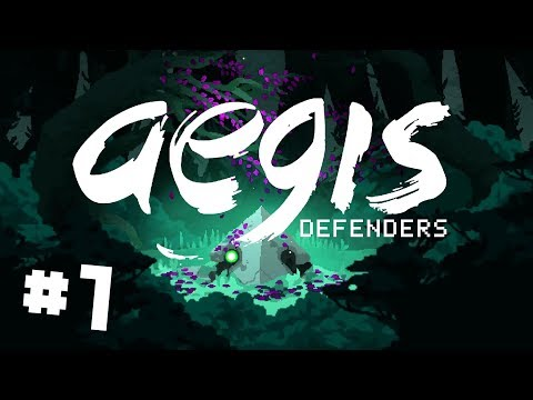Aegis Defenders - Ep 1 - Exploring Ancient Ruins for Lost Technology (Chupacabra Plays)