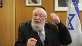 ערוץ אורות- הרב ישראל מאיר לאו - פרשת משפטים -צדקה אמיתית אינה זקוקה לפרסום
