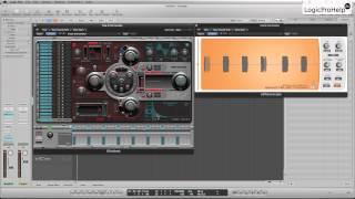 Logic Pro 9. Ultrabeat Синтез бочки. Урок 5 [Logic Pro Help]