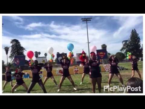 San Bernardino Cheer Squad 2015