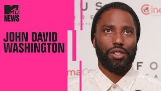 John David Washington on Working w/ Spike Lee on 'BlacKkKlansman' | MTV News