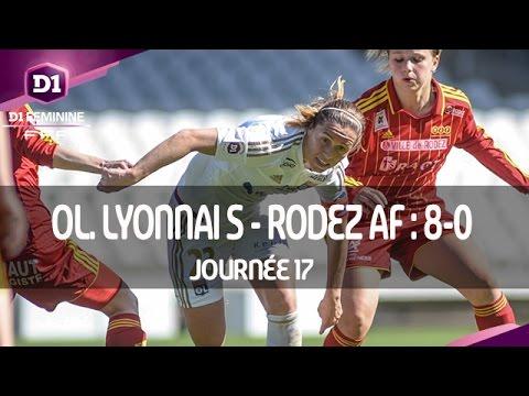 J17 : Olympique Lyonnais - Rodez AF (8-0), le résumé