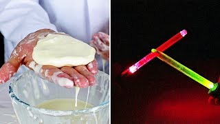Home Made Light Saber And Magic Mud Science Experiment | Amazing Ideas For Science Projects