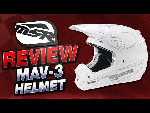 MSR MAV-3 Helmet Review from Sportbiketrackgear.com