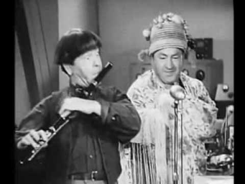 """Micro-Phonies 3 Stooges """"Voices Of Spring"""" segment"""