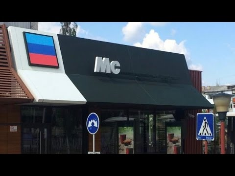 Fake McDonald's in Ukraine Gets Legal Action From Fast Food Giants