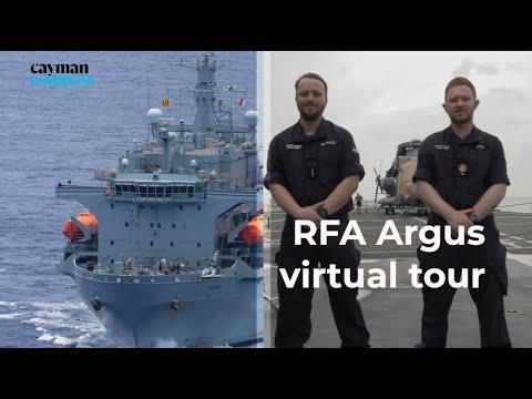RFA Argus virtual tour