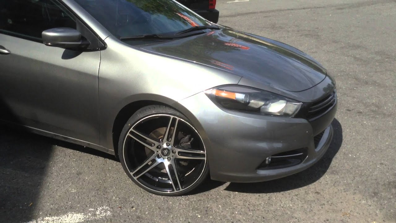 2017 Dodge Dart Rolling Out Of Rimtyme Charlotte Sitting On 20