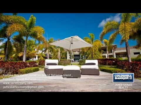 Bahamas Property - Fortune Bay Canal Home on Grand Bahama Island