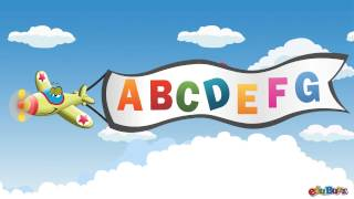 ABC Songs for Children | Airplane Alphabet Song