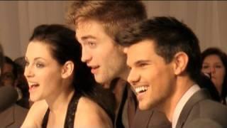 Breaking Dawn Premiere - Kristen Stewart, Robert Pattinson and Taylor Lautner in London