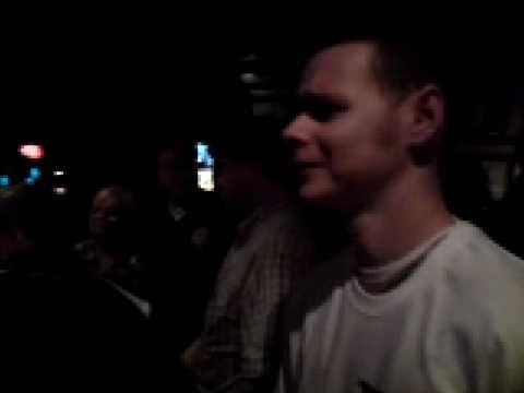 Craig at the Karaoke Black Bull