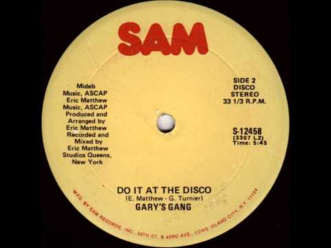 "Gary's Gang - Do It At The Disco (1978) 12"" Vinyl"