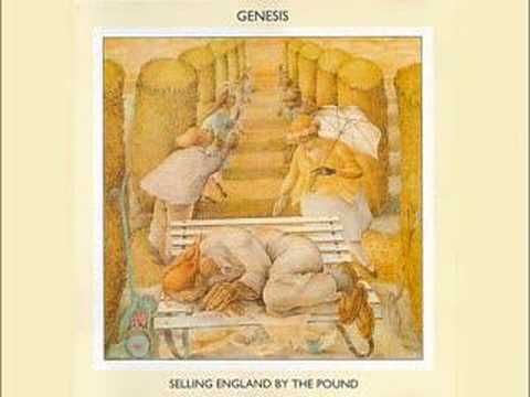 GENESIS - Dancing With The Moonlit Knight (with lyrics)