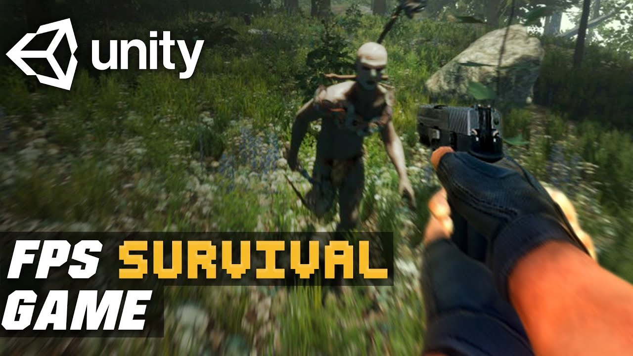 Create An FPS Survival Game In One Video | Unity FPS Survival Game Tutorial
