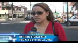 Ciudadanos preocupados por el alto costo de la vida