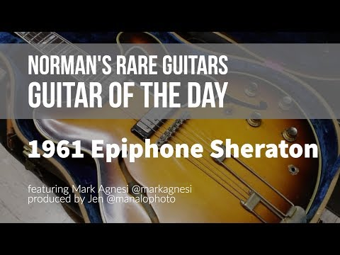 Norman's Rare Guitars - Guitar of the Day: 1961 Epiphone E-212TD Sheraton