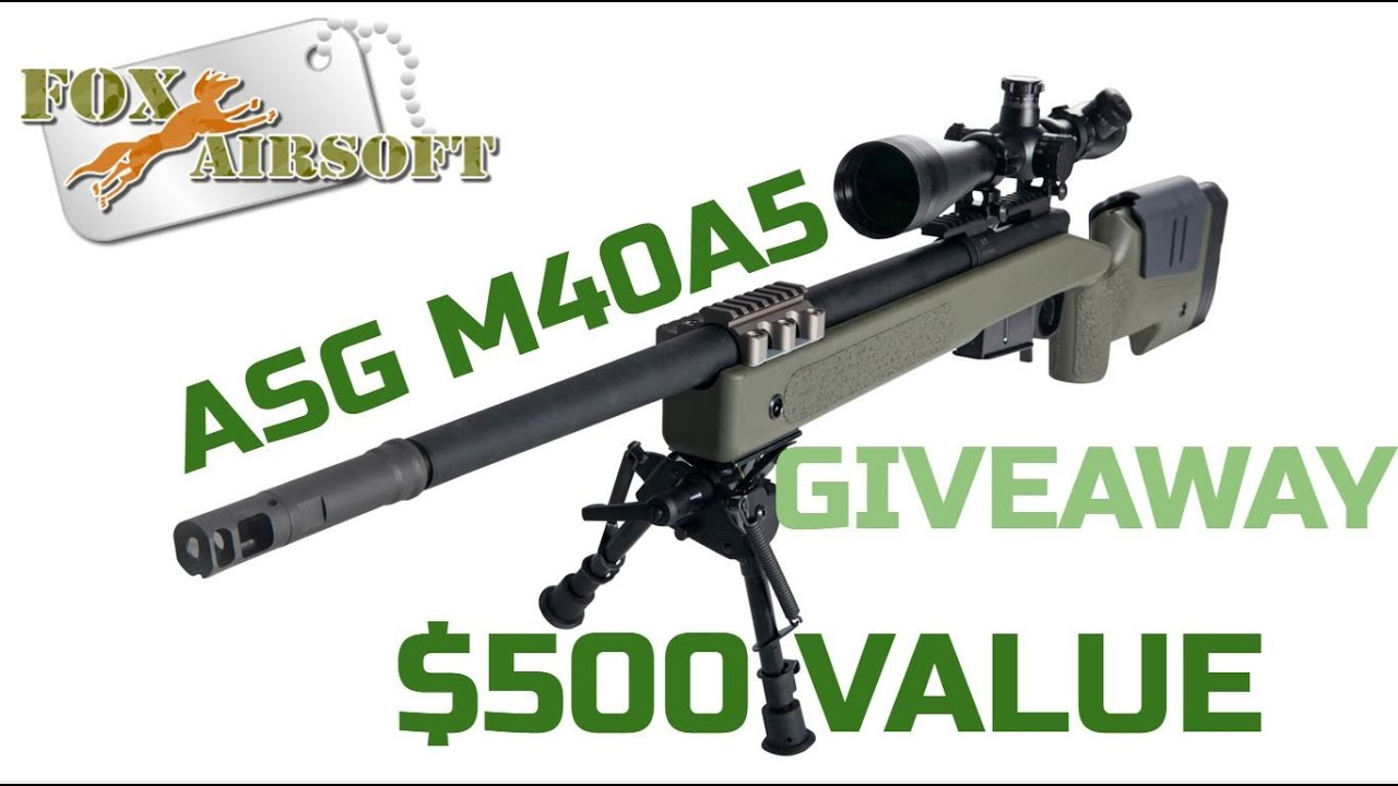 Fox airsoft giveaways
