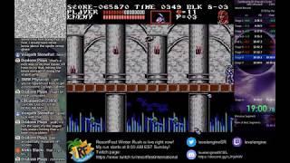 [WR] Castlevania III Speedrun 25:48 (Alucard - US) (HQ)