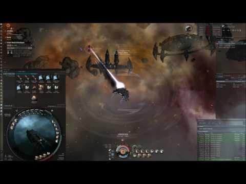 Eve online magnetar C3 drake timelapse - 217 mil/h