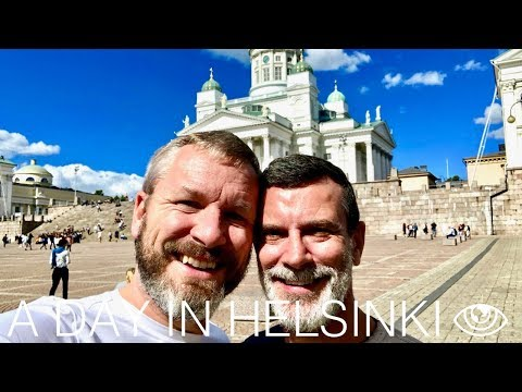 A Day in Helsinki (4K) / Finland Travel Vlog #217 / The Way We Saw It