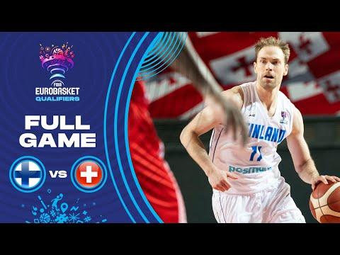 Finland v Switzerland   Full Game - FIBA EuroBasket Qualifiers 2022