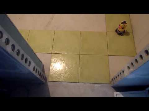 Укладка плитки на пол,от куда начать!?