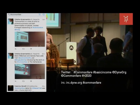 Commonfare event at Waag Amsterdam (PIEproject in 2017)