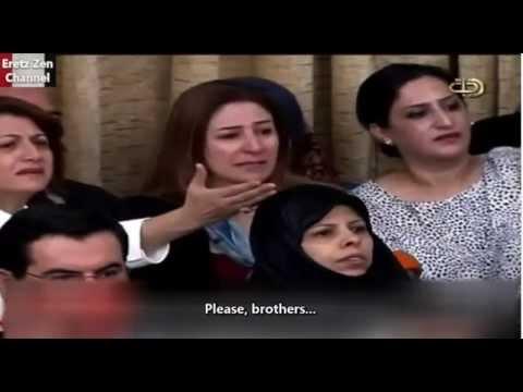 Watch: Yazidi lawmaker breaks down in Baghdad parliament